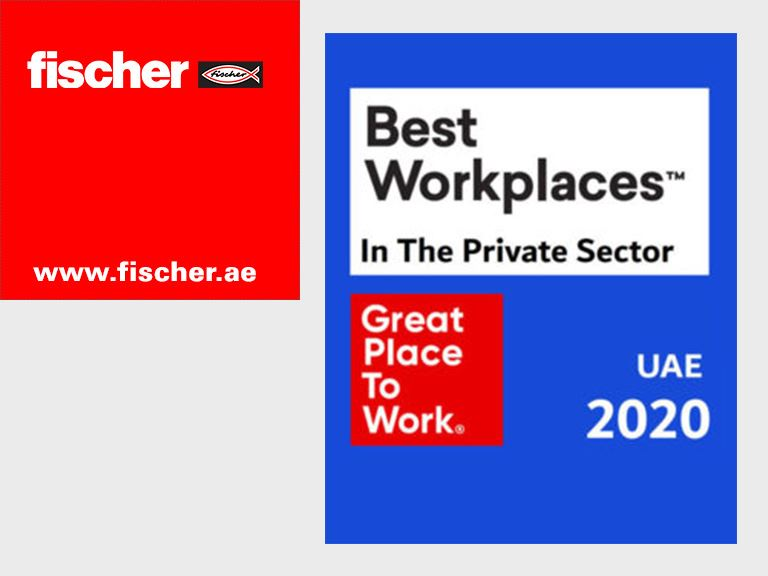 fischer Great place to work - UAE