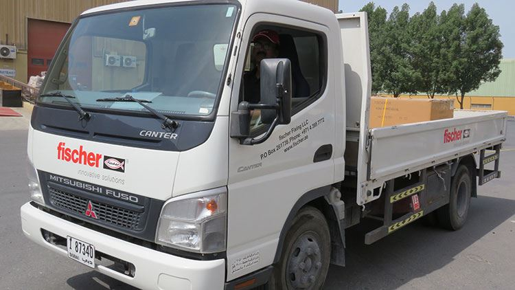 fischer fixing onsite delivery dubai