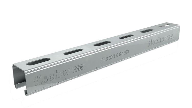 fischer Mounting Channel FLS - mounting rail