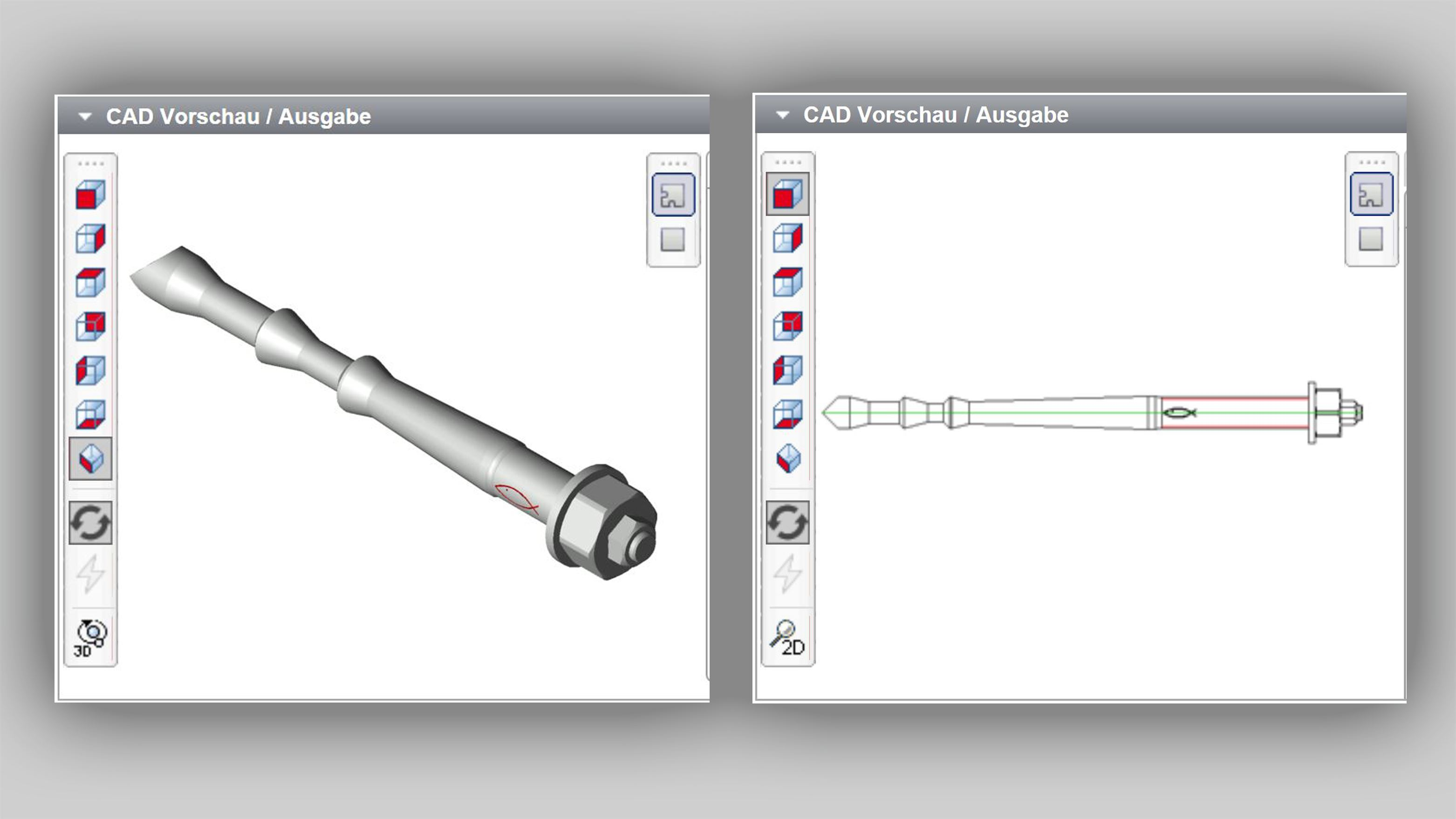CAD database | fischer Middle east